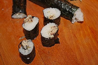 Dünne Sushi-Rollen 6