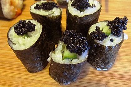 Dünne Sushi-Rollen 10