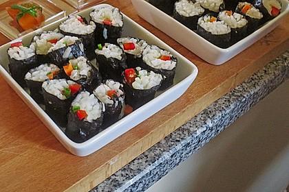 Dünne Sushi-Rollen 5