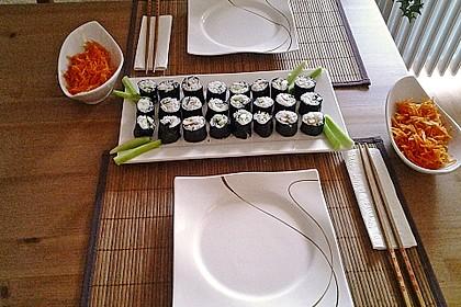 Dünne Sushi-Rollen 4