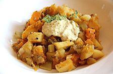 Vegetarisches Kürbis - Kartoffel - Gulasch