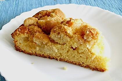 Apfelkuchen mit Butterstreuseln 53