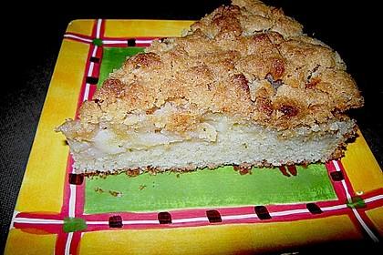 Apfelkuchen mit Butterstreuseln 80