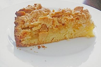 Apfelkuchen mit Butterstreuseln 12