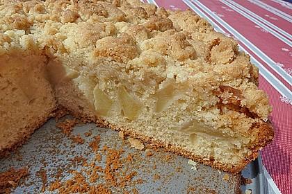Apfelkuchen mit Butterstreuseln 52
