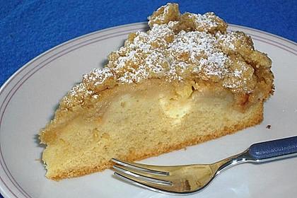 Apfelkuchen mit Butterstreuseln 16