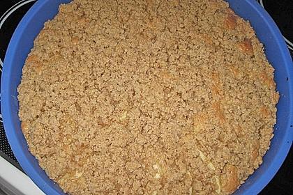 Apfelkuchen mit Butterstreuseln 87