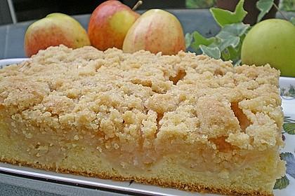 Apfelkuchen mit Butterstreuseln 1