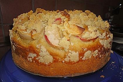 Apfelkuchen mit Butterstreuseln 59
