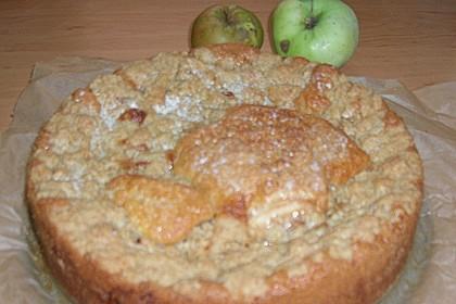 Apfelkuchen mit Butterstreuseln 90