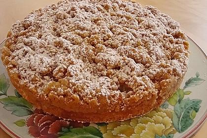 Apfelkuchen mit Butterstreuseln 9