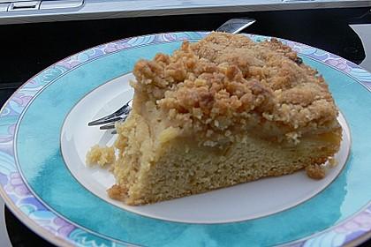 Apfelkuchen mit Butterstreuseln 93