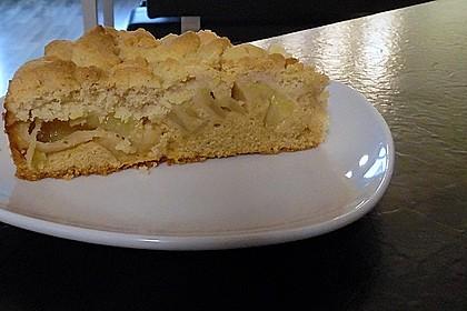 Apfelkuchen mit Butterstreuseln 64