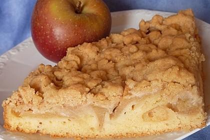 Apfelkuchen mit Butterstreuseln 18
