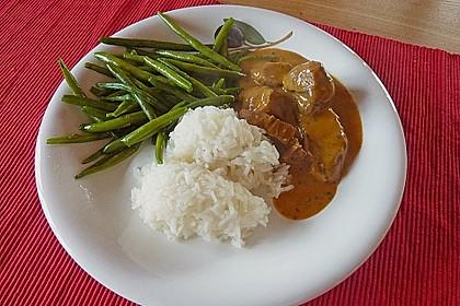 Schweinefiletmedaillons in Grüner Pfeffer - Sauce 2