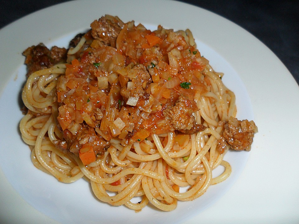 Spaghetti With Bolognese Sauce Recipes — Dishmaps