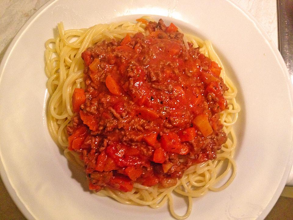 spaghetti mit sauce bolognese von sam4705. Black Bedroom Furniture Sets. Home Design Ideas