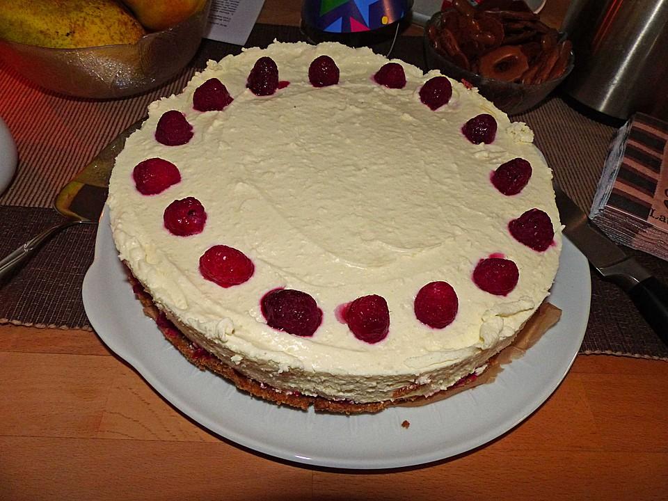 Himbeer Philadelphia Torte : himbeer philadelphia torte rezept mit bild von ~ Lizthompson.info Haus und Dekorationen