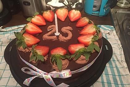 Schokoladenkuchen - süße Sünde mal ganz zart 80