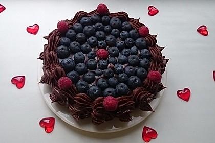 Schokoladenkuchen - süße Sünde mal ganz zart 52