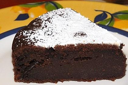 Schokoladenkuchen - süße Sünde mal ganz zart 90