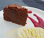 Schokoladenkuchen - süße Sünde mal ganz zart (Bild)