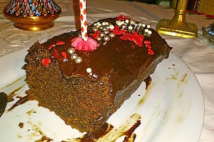 Schokoladenkuchen - süße Sünde mal ganz zart 165