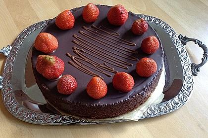 Schokoladenkuchen - süße Sünde mal ganz zart 2