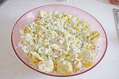 Tortellinisalat mit Feta - Käse 2