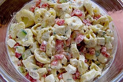 Tortellinisalat mit Feta - Käse
