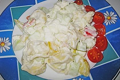 Tortellinisalat mit Feta - Käse 1