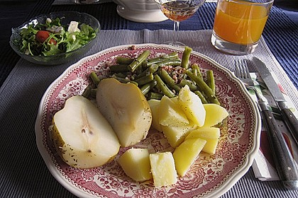 Birnen, Bohnen und Speck 13