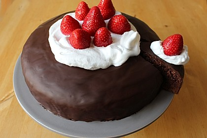 Saftiger Schokoladenkuchen 2