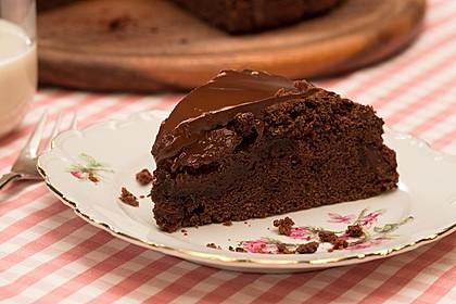 Saftiger Schokoladenkuchen 1