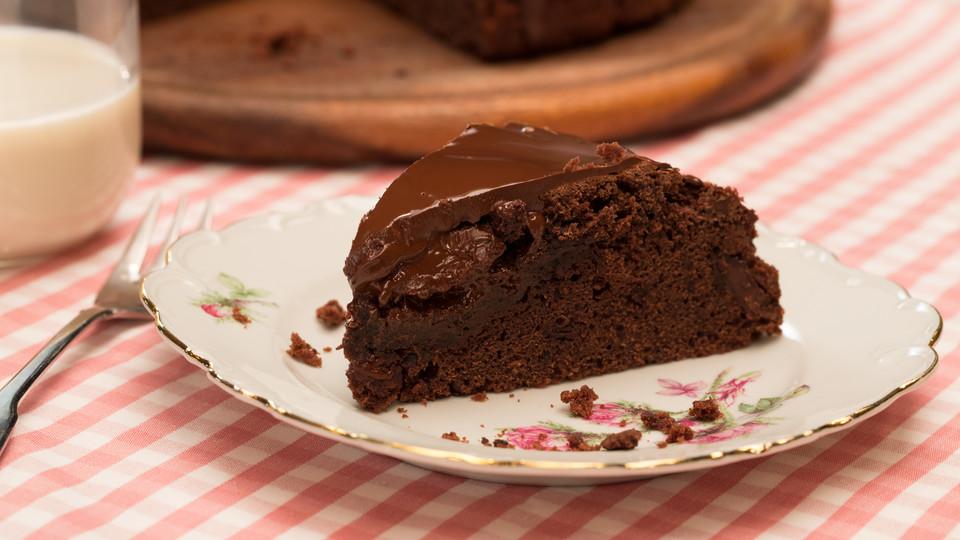 saftiger schokoladenkuchen rezept mit bild von sojaflocke. Black Bedroom Furniture Sets. Home Design Ideas