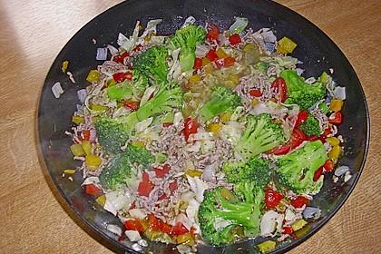 Gemüsepfanne 1