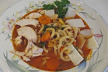 Italienische Hühnersuppe 9