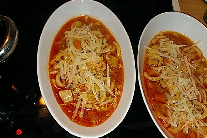 Italienische Hühnersuppe 1