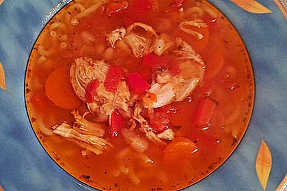 Italienische Hühnersuppe 11