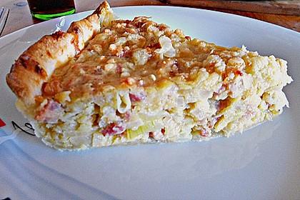 Einfacher Zwiebel - Speck - Kuchen