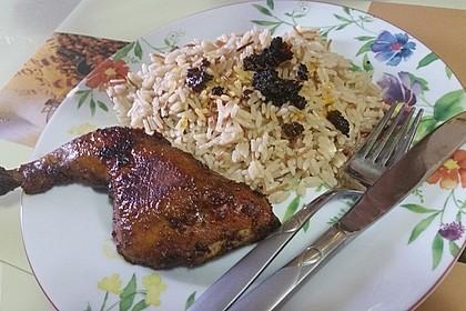 Knusprige Hähnchenkeulen aus dem Ofen 57
