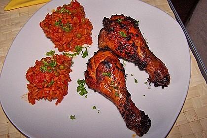 Knusprige Hähnchenkeulen / Hähnchenschenkel aus dem Ofen 56