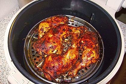 Knusprige Hähnchenkeulen / Hähnchenschenkel aus dem Ofen 72