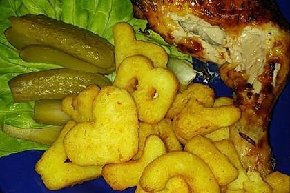 Knusprige Hähnchenkeulen aus dem Ofen 72