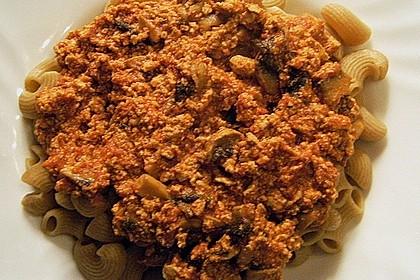 Tofu Bolognese 12