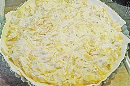 Brillas Zwiebelkuchen mit Käse 30