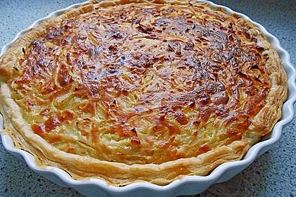 Brillas Zwiebelkuchen mit Käse