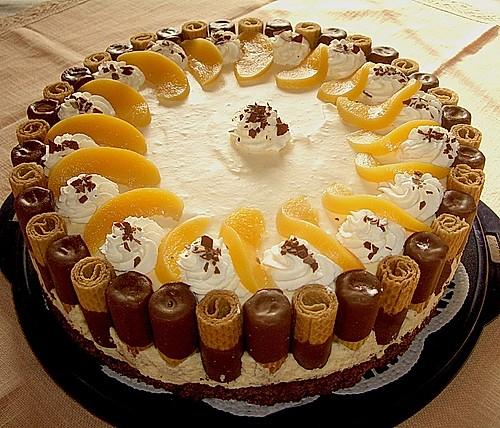 eierlik r pfirsich torte rezept mit bild von torte80. Black Bedroom Furniture Sets. Home Design Ideas
