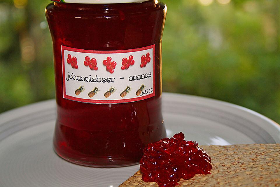 johannisbeer marmelade rezept mit bild von angelika1m. Black Bedroom Furniture Sets. Home Design Ideas