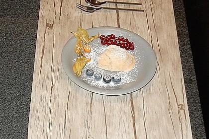 Zimteis mit Birnen und Lebkuchensauce 1